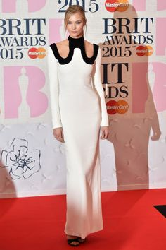 See the best dressed celebrities at the 2015 Brit Awards: Karlie Kloss
