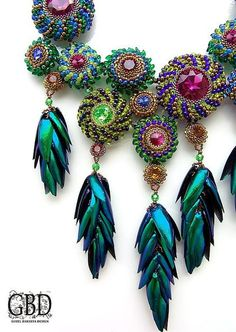 "EyeCandy ""Bead Jewelry Designed by Guzel Bakeeva -GBD"" featured in Bead-Patterns.com Newsletter!"