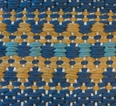Warped by Design: Indian Carpet Project with wif file Motifs Textiles, Textile Fabrics, Textile Patterns, Weaving Designs, Weaving Projects, Woven Rug, Woven Fabric, Fabric Weaving, Dark Carpet