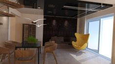 livingroom design  interieur concepcion #interiordesign #livingroom