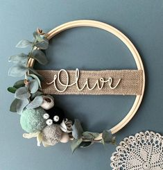 Your place to buy and sell all things handmade Diy Home Crafts, Crafts To Sell, Diy Home Decor, Creative Crafts, Nursery Name, Boho Nursery, Name Plaques, Resin Crafts, Yarn Crafts