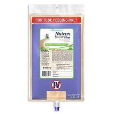 NUTREN Junior Fiber Pediatric Tube Feeding Formula 1000 mL SpikeRight PLUS UltraPak |. NUTREN Junior Fiber Pediatric Tube Feeding Formula  NUTREN Junior Fiber Pediatric Tube Feeding Formula from PRO2 Medical Nutrition provides 50% whey protein to promote tolerance andablend of PREBIO soluble fiber and insoluble fiber for children ages 1-13. Fiber blend includes 2.2 g/L PREBIO™ soluble fiber to help promote the growth of beneficial bacteria and 3.8 g/L insoluble fiber to help support normal…