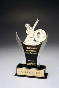 Cricket Memorial Trophy GA 618 Want To Place A Bulk Order Please Call