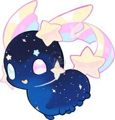 Pacapillars - Character :: G-1231: Wish Panda Anime Girl, Anime Angel Girl, Cute Kawaii Animals, Cute Animal Drawings Kawaii, Scary Drawings, Cute Drawings, Kawaii Doodles, Kawaii Art, Axolotl Cute