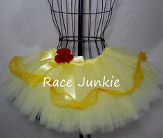 Southern Belle Yellow Princess  ( 9 inch Running tutu)