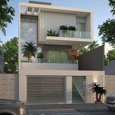 Trendy Ideas For Simple House Design Ideas Exterior House Outer Design, Simple House Design, Bungalow House Design, House Front Design, Modern Bungalow Exterior, Dream House Exterior, Modern Villa Design, Luxury Modern Homes, Kerala House Design
