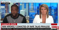 Wrongly Convicted Football Player Leaves CNN Host Nearly Speechless as He Breaks Down Role of 'Privilege' in Sentencing
