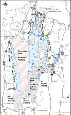 Quabbin Reservoir fishing map & facts!