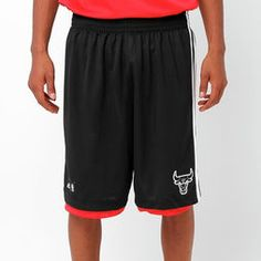 Shorts Adidas NBA Rn Chicago Bulls - Preto