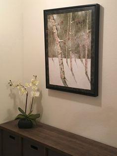 Nancy Zieman, Tim Holtz, Sewing With Nancy, Landscape Art Quilts, Moonlight, Giclee Print, Birches, Blog, Art Prints