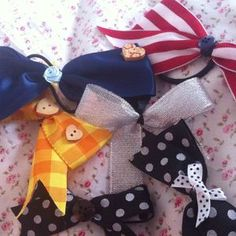 How to make a bow #DIY #CRAFTS