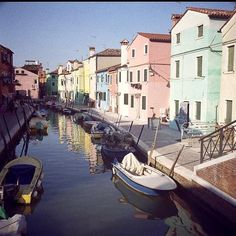 Murano Island - Sitting about a mile north of Venice, Murano island (actually many small islands linked by bridges) is famous for its history of glass making, with particularly high quality lamps being produced.