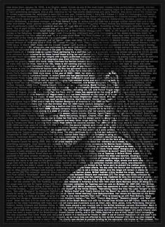Ralph Ueltzhoeffer, Kate Moss, 2008 / 2009 © www.lumas.com/ #Biographies #Biography #blackandwhite #Celebrities #Collage #Collages #Concept #Fashion #KateMoss #LastPrints #Model #Models #Photography #Portrait #Portraits #Text #Texts #Woman #Women #Writing #Lumas
