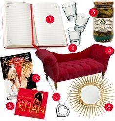 Living In: Bridget Jones's Diary (Design Sponge) - Moleskine 2013 Diary Bridget Jones Quotes, Starburst Mirror, Love Film, Pajama Party, Inspiration Wall, Film Movie, Party Themes, Chaka Khan, Films