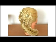 WaterFall Double Basket Braid Hairstyle / Hair Tutorial / HairGlamour - YouTube