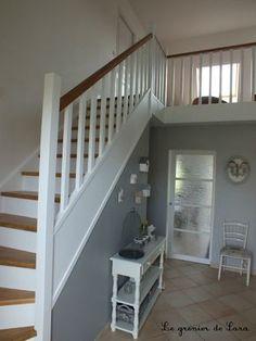 escalier repeint en blanc … | Pinteres…