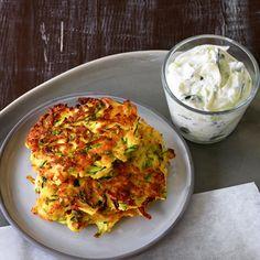 Pastinaken-Zucchini-Taler Rezept   Küchengötter