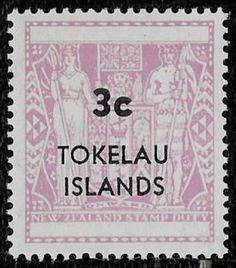 +  Tokelau Union Islands Pacific New Zealand Dependency 3c MNH