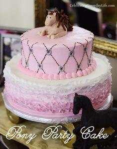 Pony Themed Birthday Party