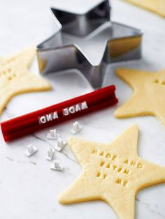 2013 Christmas Craft Kits Idea, Personalized Christmas craft Cookies for Christmas, Stamp Your Own Cookies Kit #Christmas #Craft #Kits #Idea  www.loveitsomuch.com