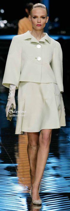 Valentino Off White Dress & Demi Jacket