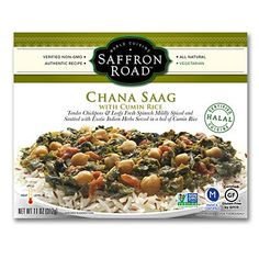 Saffron Road Chana Saag: We taste-tested healthy frozen meals. Here are the freshest, healthiest and most appetizing microwavable dinners.