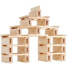 Jeu de construction — Legos, Block Area, Block Play, Construction Area, Stem For Kids, Wooden Blocks, Creative Kids, Jenga, Kids House