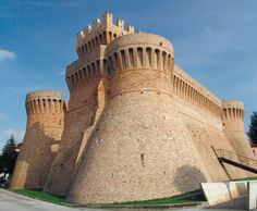 Rocca Diaz - sec XIII - Urbisaglia, Marche - Italy