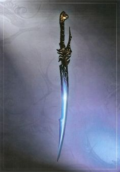 Glowing blades- we would have to dull down or maybe we could do a glowing axe similar?