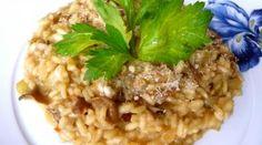 Talianske hríbové rizoto