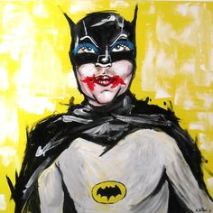 Batman by: http://alexfioratti.blogspot.it/  Now @ Casa Mazzanti Cafè - Piazza Erbe - Verona.