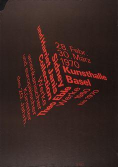 Kunsthalle Basel #typography