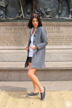 Street Style: Stripe Hype | The Tory Blog