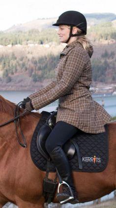 Convertible Turnout Winter Riding Jacket | Kerrits