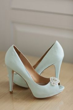 Light Blue Wedding Shoes  # Tiffany Blue Wedding ... For free wedding ideas, tips and tricks ... ♥  http://www.facebook.com/pages/Planning-a-Wedding-Wedding-Apps/323767291749 ♥ https://twitter.com/bridesiPhoneApp