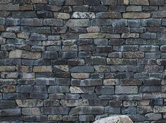 Andesit A1-A2 hugget kiler til stenvæg og stenmur.-sten-design.dk