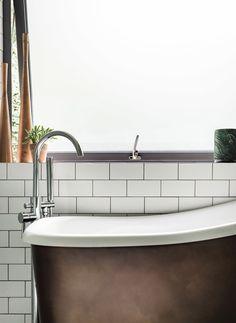 Small Bathroom Inspiration Industrial Style UK