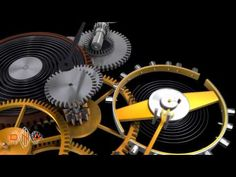 Mechanical watch 3D animation - YouTube
