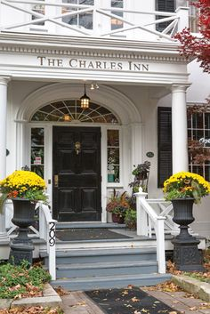 Stay at The Charles Inn when you visit Niagara-on-the-Lake, often called the prettiest town in Canada.