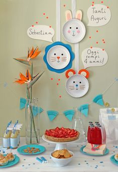 giochi di carta: DIY (last minute!) party decorations