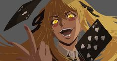 Kakegurui Saotome Wallpaper by on Evil Anime, Yandere Anime, Animes Yandere, Haikyuu Anime, Arte Black, Japon Illustration, Animation, Wallpaper Pc, Cute Anime Character