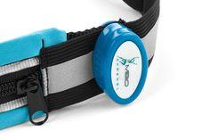 Light-Up Running Belt With Reflective Strip