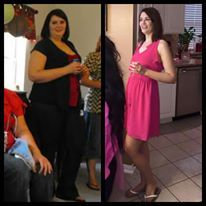 Before and After Transformation Tuesday PCOS weightloss