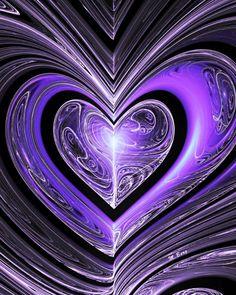 Purple Art, Purple Love, All Things Purple, Shades Of Purple, Deep Purple, Pink Purple, Purple Stuff, Heart Wallpaper, Purple Wallpaper