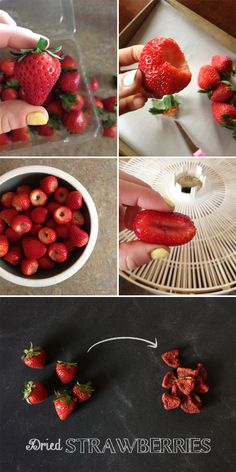 Whole Dried Strawberries - Our Paleo Life (probably one of my most favorite dried fruits)