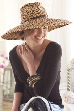 Woven & Floppy Hats and Fedoras