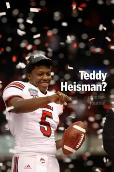 We love our Teddy! Teddy Bridgewater, Louisville Cardinals, My Love, Awesome, Cards, Products, Be Awesome, Maps, Gadget