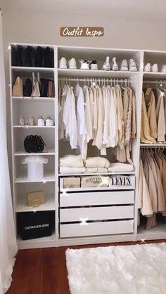 Wardrobe Room, Wardrobe Design Bedroom, Room Design Bedroom, Room Ideas Bedroom, Home Room Design, Closet Bedroom, No Closet, Closet Space, Dressing Room Decor