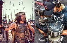 """Dwayne Johnson ist das, was als einen Berg von einem Mann bezeichnet wird. In seinem neuesten Film """"Hercules"""" präsentiert er seinen erstaunlich gut gebauten Körper. Du fragst dich sicherlich, wie er dafür trainiert hat. Obwohl The Rock die meiste Zeit seines Lebens ins Studio gegangen war und dies immer noch tut, war sein Hercules-Training selbst …"""