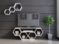 Tv Unit Furniture Design, Tv Unit Interior Design, Tv Wall Design, Home Decor Furniture, Home Decor Bedroom, Room Decor, Bedroom Closet Design, Home Room Design, House Arch Design